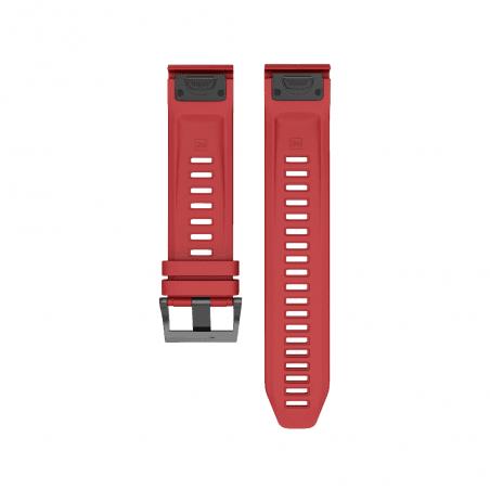 Curea Garmin Fenix 5 – 22mm – Silicon – Dark Red – G131