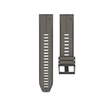 Curea Garmin Fenix 5 – 22mm – Silicon – Slate Gray – G135