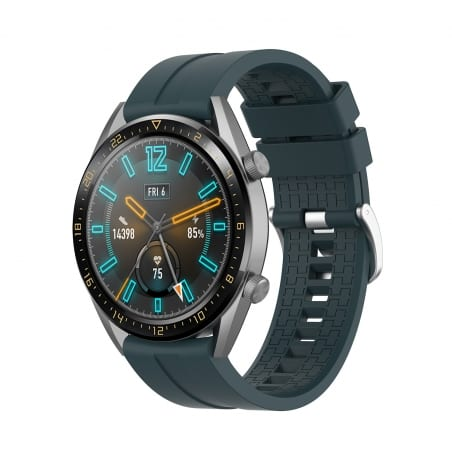 Curea Huawei Watch GT Active 42mm – Silicon – Army – H0016