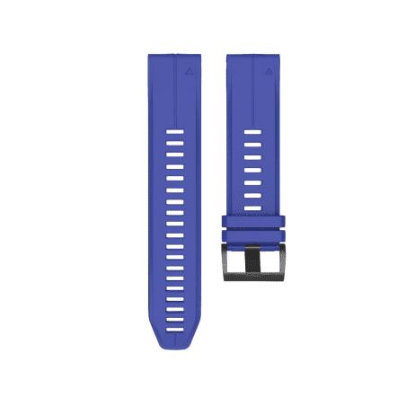 Curea Garmin Fenix 5 – 22mm – Silicon – Royal Blue – G142