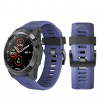Curea Garmin Fenix 3 – 26mm – Silicon – Navy – G105