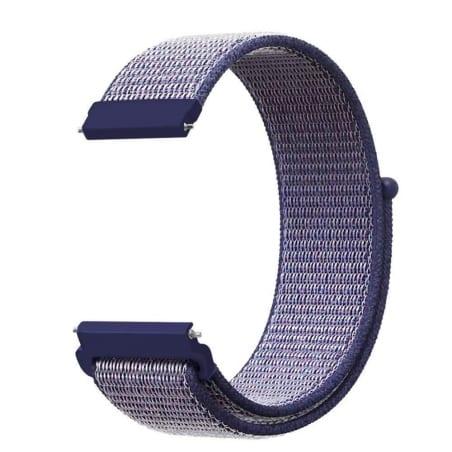 Curea Garmin Forerunner 245 – 20mm – Nylon – Navy – G129