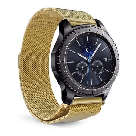 Curea Milanese Huawei Watch GT – 42mm – Oțel inoxidabil – Gold – S864
