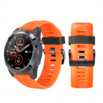 Curea Garmin Fenix 3 – 26mm – Silicon – Orange – G109