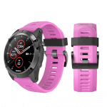 Curea Garmin Fenix 3 – 26mm – Silicon – Pink – G104