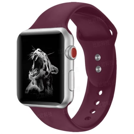 Curea Apple Watch 4/5 – 44 mm – Silicon – Rosy Brown – A303