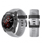 Curea Garmin Fenix 3 – 26mm – Silicon – Gray – G101