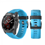 Curea Garmin Fenix 3 – 26mm – Silicon – Blue – G111