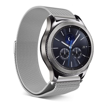 Curea Milanese Huawei Watch GT – 42mm – Oțel inoxidabil – Silver – S865