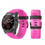 Curea Garmin Fenix 3 – 26mm – Silicon – Hot Pink – G108
