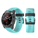 Curea Garmin Fenix 3 – 26mm – Silicon – Aquamarine – G102