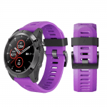 Curea Garmin Fenix 3 – 26mm – Silicon – Medium Purple – G110