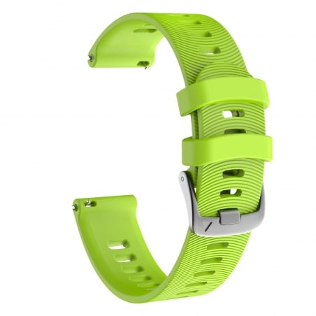 Curea Garmin Forerunner 645 – 20mm – Silicon – Yellow Green – G160