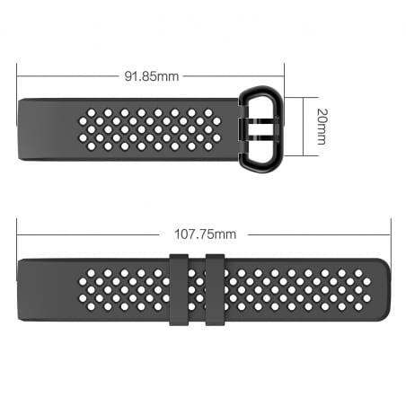 Curea Fitbit Charge 4 – S – Misty Rose – FB048