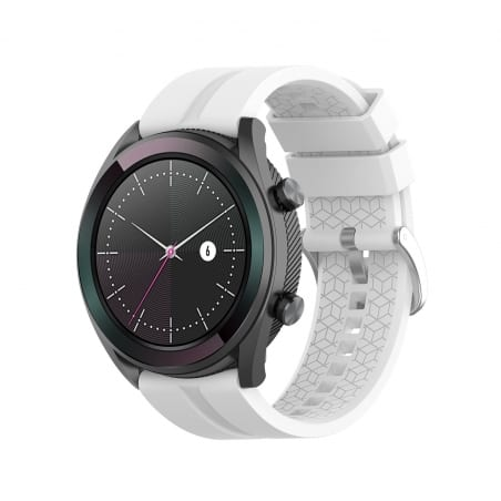 Curea Huawei Watch GT Active 42mm – Silicon – Snow White – H0019