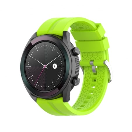 Curea Huawei Watch GT Active 42mm – Silicon – Greeny Yellow – H0020
