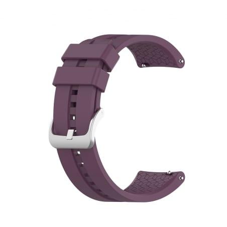 Curea Huawei Watch GT Active 42mm – Silicon – Dark Purple – H0015
