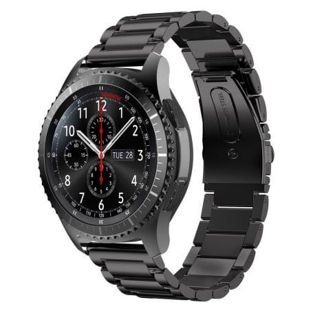 Curea Huawei Watch GT – 46 mm – Metal – Black – S880