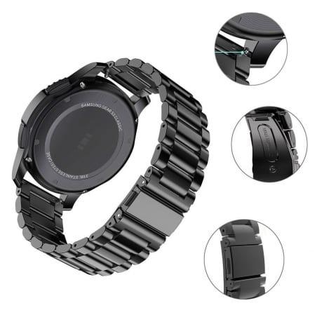 Curea Huawei Watch GT – 42mm – Metal – Black – G177