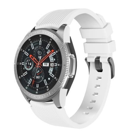 Curea Huawei Watch Active GT 46 mm – L – Silicon – White – S830