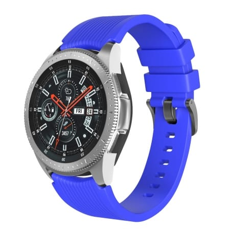 Curea Huawei Watch Active GT 46 mm – S – Silicon – Dark Blue – S835
