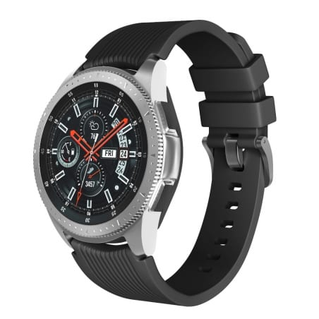 Curea Huawei Watch Active GT 46 mm – S – Silicon – Black – S831