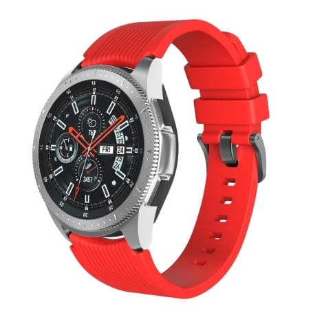 Curea Huawei Watch Active GT 46 mm – S  – Silicon – Dark Red – S837