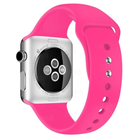 Curea Apple Watch 4/5 – 40 mm – Silicon – Hot Pink – A289