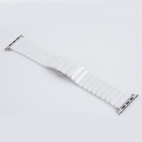 Curea Apple Watch 1/2/3 – 38mm – Ceramică – White – A336