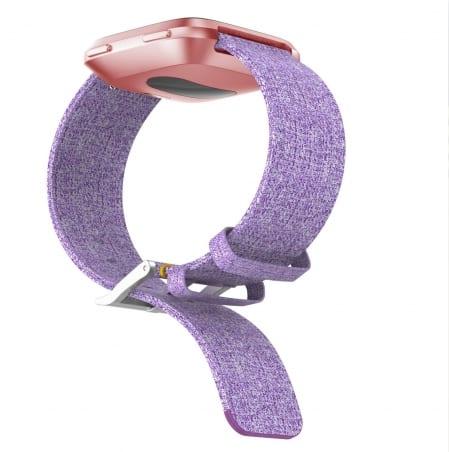 Curea Canvas Fitbit Versa – Material Textil – Lavender – FB077