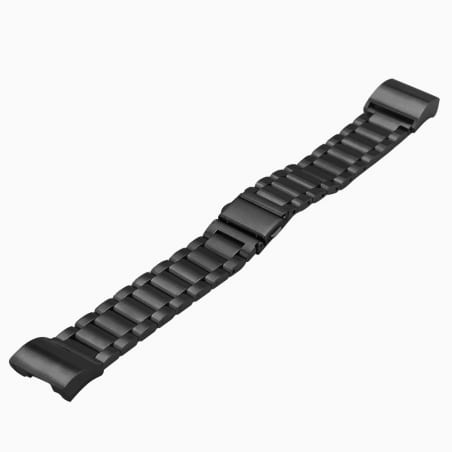 Curea Fitbit Charge 3  – Metal – Black – FB091