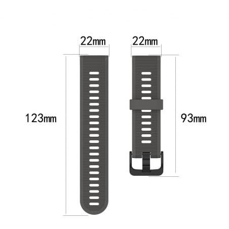Curea Garmin Fenix 5 – 22mm – Silicon – Yellow Green – G170