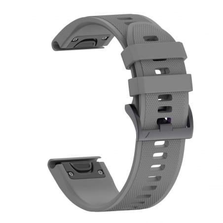 Curea Garmin Fenix 5X Plus – 26mm – Silicon – Gray – G119