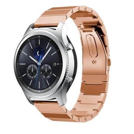 Curea Samsung Galaxy Active – 20mm – Oțel Inoxidabil – Rose Gold – S873 –