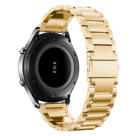 Curea Huawei Watch GT – 42mm – Metal – Gold – G178