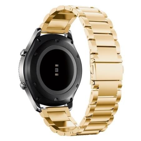Curea Huawei Watch GT – 46 mm – Metal – Gold – S882