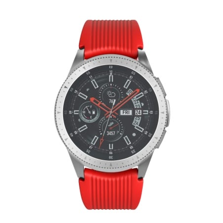Curea Huawei Watch Active GT 46 mm – L  – Silicon – Dark Red – S824