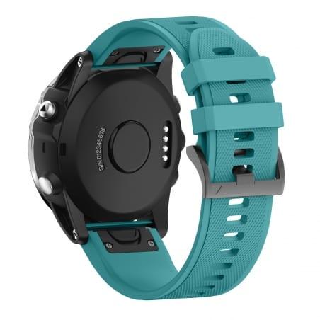 Curea Garmin Fenix 5 – 22mm – Silicon – Turquoise – G248
