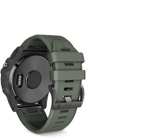 Curea Garmin Fenix 5 – 22mm – Silicon – Army – G137