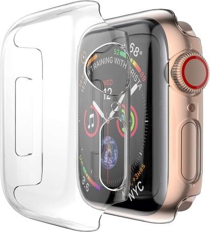 Husă de protecție Apple Watch 1/2/3 38mm – Transparent – A410