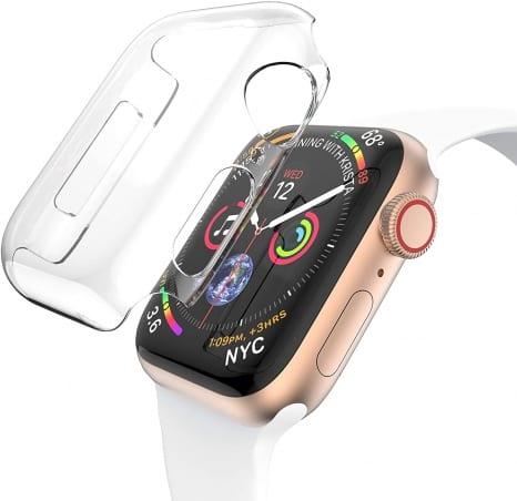 Husă de protecție Apple Watch 4/5 40 mm – Transparent – A411