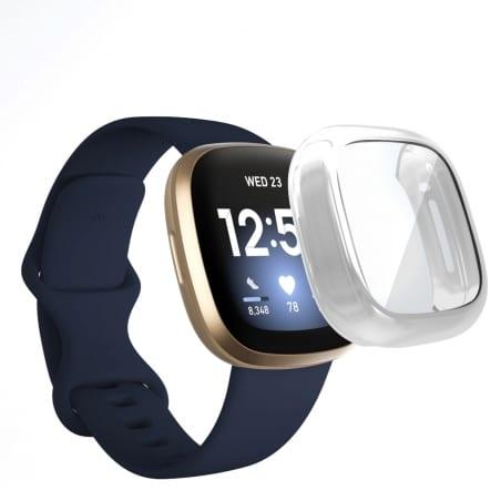 Husă de protecție Fitbit Versa 3 – Silver – FB156