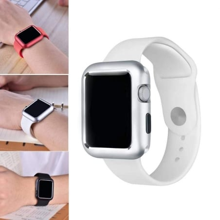 Husă de protecție Apple Watch 4/5 40mm – Metal – Silver – A402