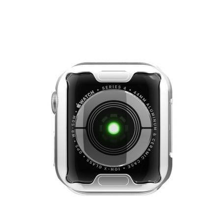 Husă de protecție Apple Watch 4/5 -44mm – Silver – A377
