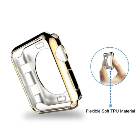 Husă de protecție Apple Watch 1/2/3 38mm – Gold – A383