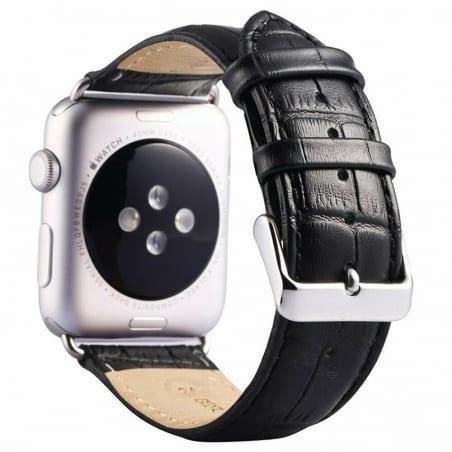 Curea Apple Watch 4 / 5 – 44 mm – Piele – Black – A426