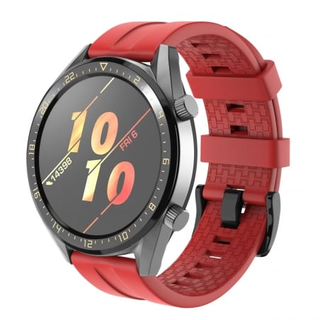 Curea Huawei Watch GT Active 46mm – Silicon – Red – H0034
