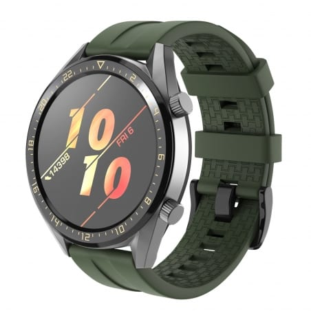 Curea Huawei Watch GT Active 46mm – Silicon – Army – H0038