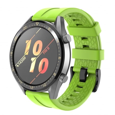 Curea Huawei Watch GT Active 46mm – Silicon – Green – H0035