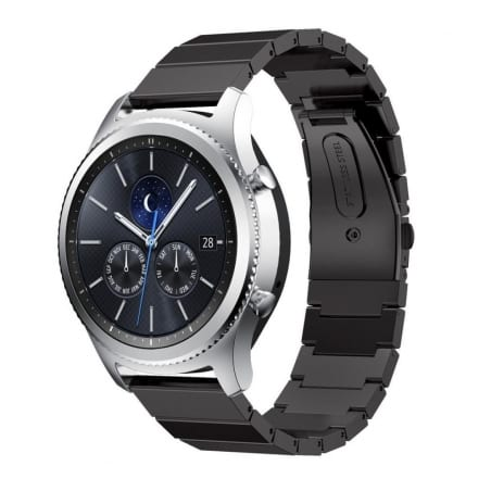 Curea Huawei Watch GT – 46 mm – Oțel Inoxidabil – Black – S941